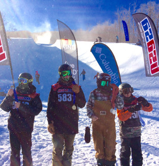 Snowboard success at multiple mountains