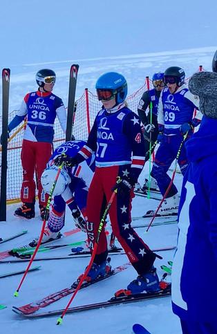 Mazie Hayden races Europa Cup in Austria alongside top athletes in her sport