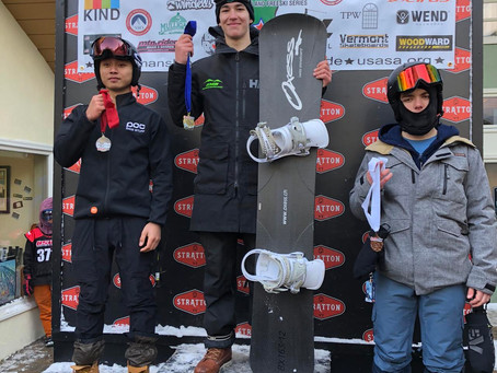 Stepping up for gold at Stratton