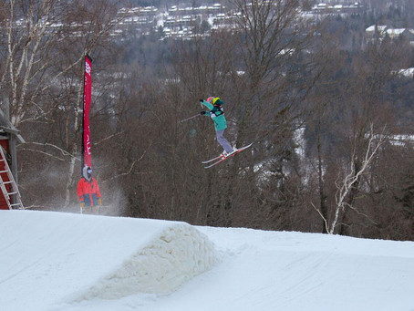 Freeski catches air and podiums in Mt. Snow