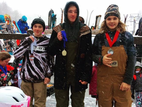Snowboard team finds podiums in US and Canada
