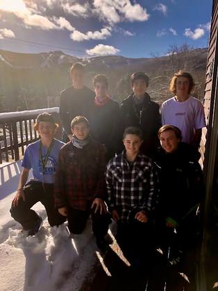Black Bear Award - U16 Men's Alpine Team