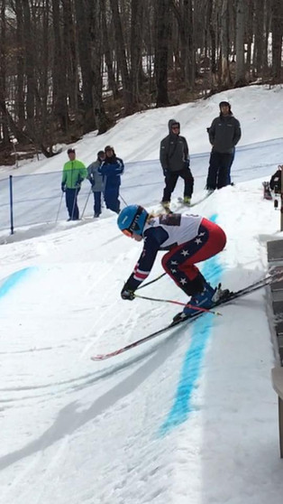 Mazie Hayden rocking the SkiCross circuit
