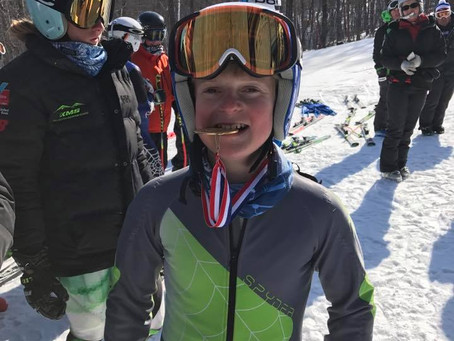 KMS Alpine athletes step onto podiums with pride