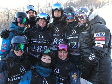All smiles and successes at Whiteface