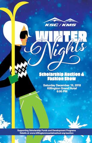 Winter Auction is just around the corner