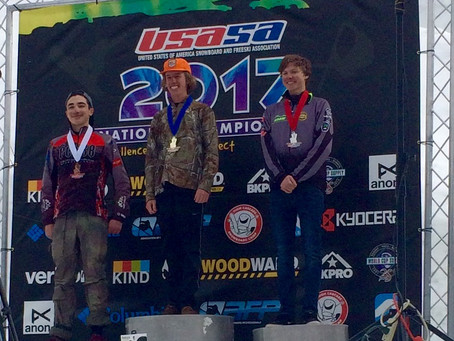 Justin Giltz takes silver at USASA Nationals