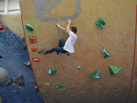 Sam Hayden heading to Rock Climbing Nationals