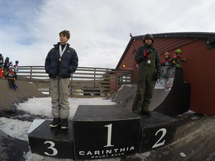 Slopestyle action at Carinthia Parks