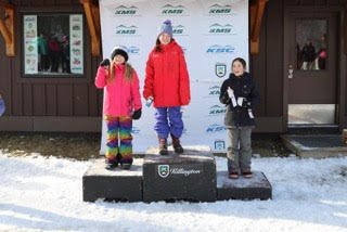 Freestyle athletes find podium in home event