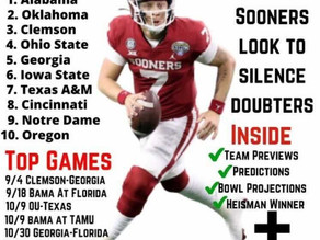 Sidelines Sports CFB Preview