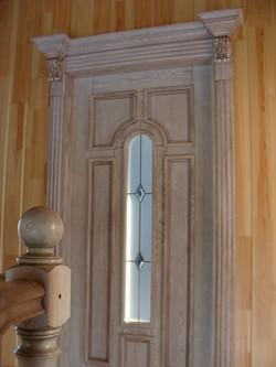 дверь в комнату белая ручная работа