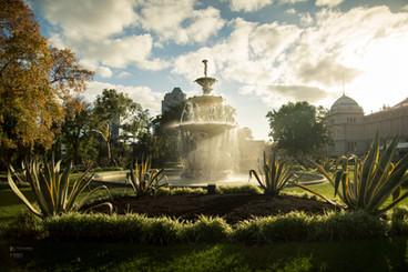 Carlton Gardens Fountain in Melbourne