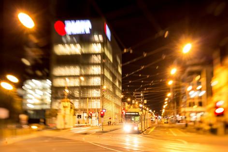 Design Hub at Night, Melbourne