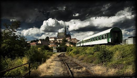 View of Brno, Czech Republic