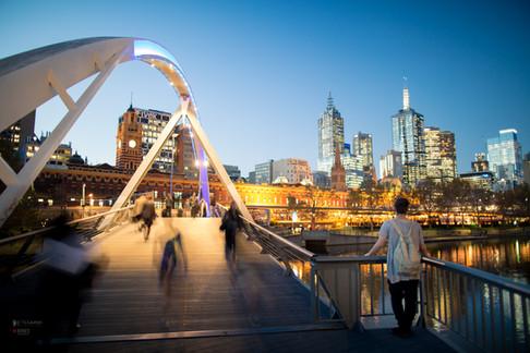 Southbank view Melbourne