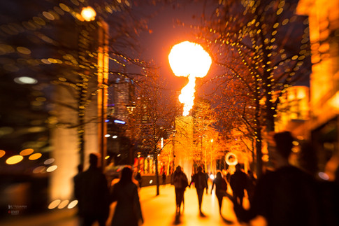 Crown Fires at Southbank Melbourne