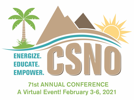 71st Annual CSNO Conference