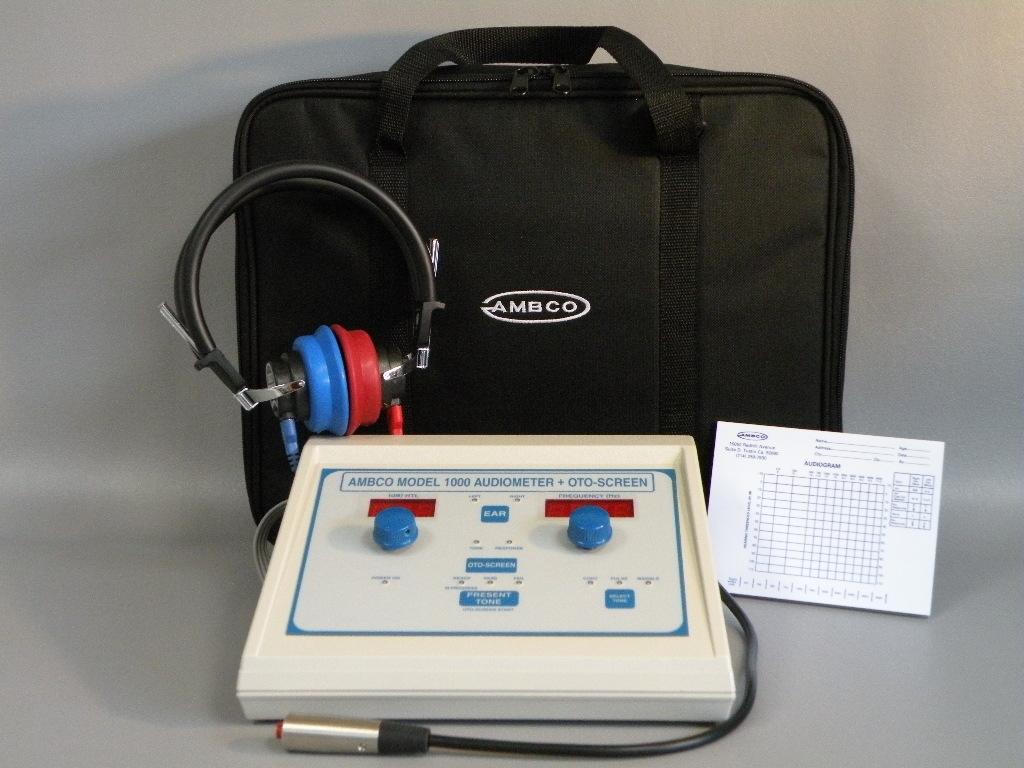 Ambco 1000+ Audiometer