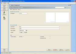 Maintain Subject Database