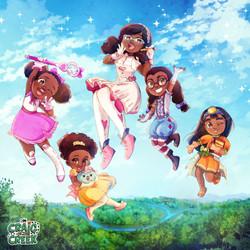 Cartoon Network International Women's Day Illustration 2021