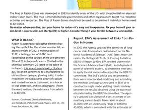 January is National Radon Awareness Month