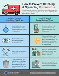 How to Prevent Catching & Spreading Coronvirus