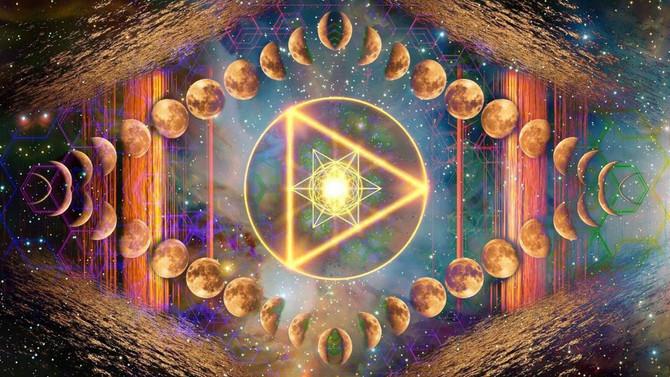 LA LUNA LLENA EN TAURO *Luna de la Trasmutación y Materialización*