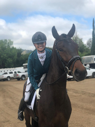 Kim McGrath dressage competition 2019-03-23 at 7.15.06 PM.