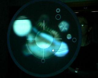 Gesture based interactive film experience prototype testing 2