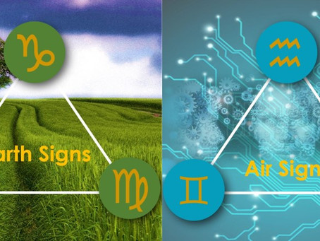 Zodiac Sign Part 1: Discover Your Astrological Element (FIRE, EARTH, AIR, WATER SIGNS)