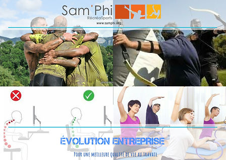 Evolution entreprise team building forma