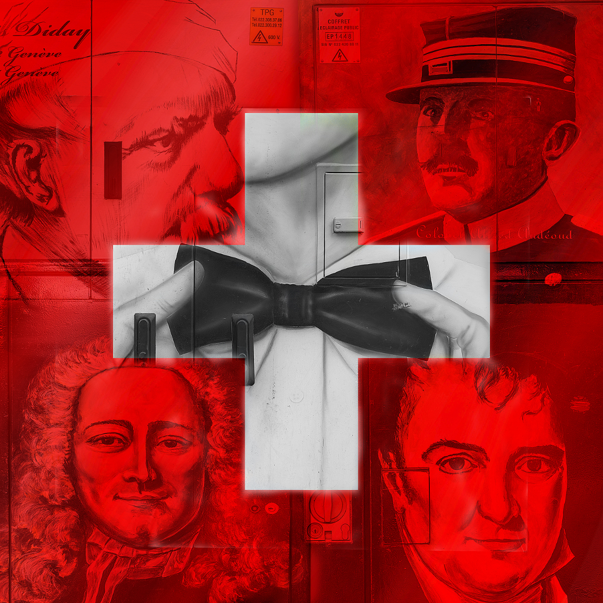 Drapeau Suisse Face