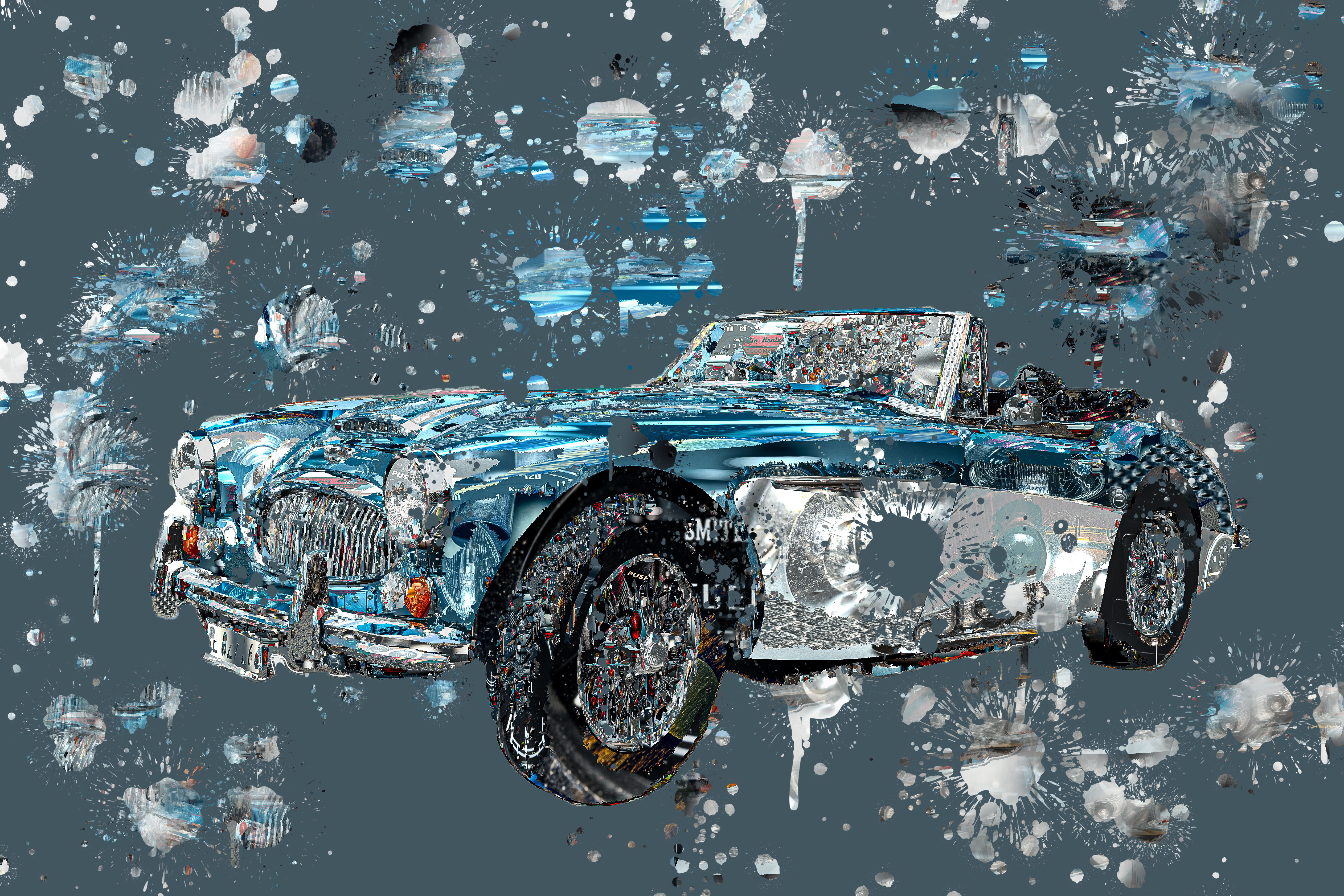 Healey splash