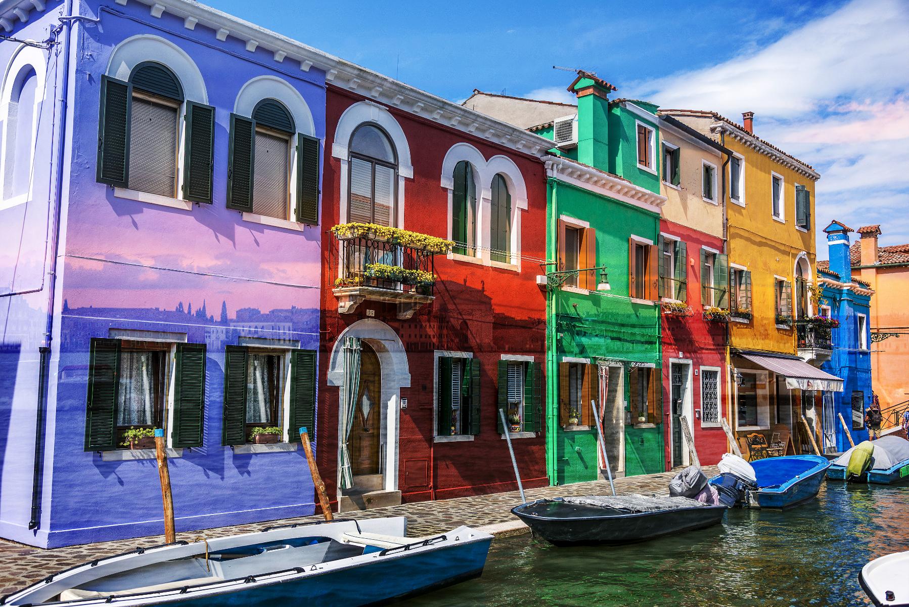 Venise multicolor