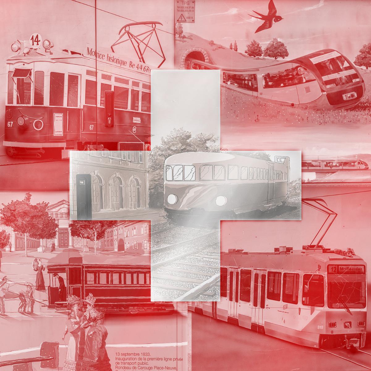 Drapeau Tram