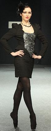 """Платье """"Серый Лебедь"""""""