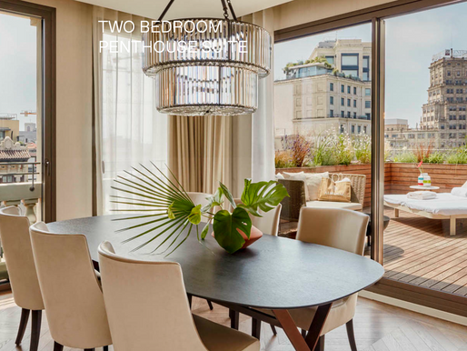 Two Bedroom Penthouse Suite at Almanac Barcelona