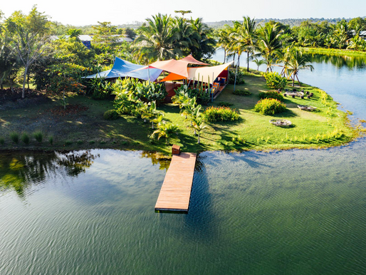 A Private Estate hosting one party at a time on Sweet Bocas