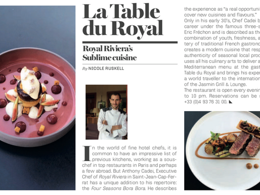 Royal Riviera featured in Riviera Insider Magazine!