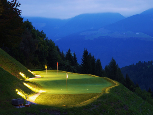 Golf in the Dolomites and White Deer Lodge, San Lorenzo