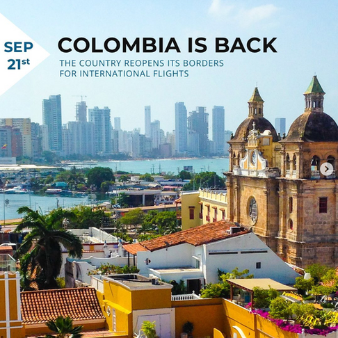 Colombia is Back by Galavanta!