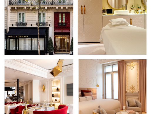 Gastronomy, Spa and 5 Star luxury at the Bowmann Hotel in Paris
