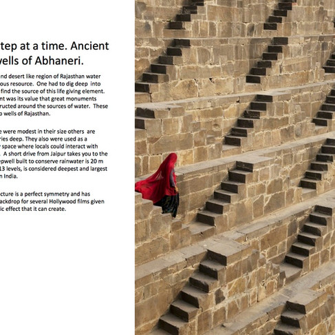 The ancient stepwells of Abhaneri with Equinox India DMC