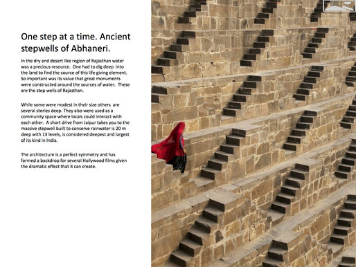 Ancient stepwells of Abhaneri with Equinox India DMC