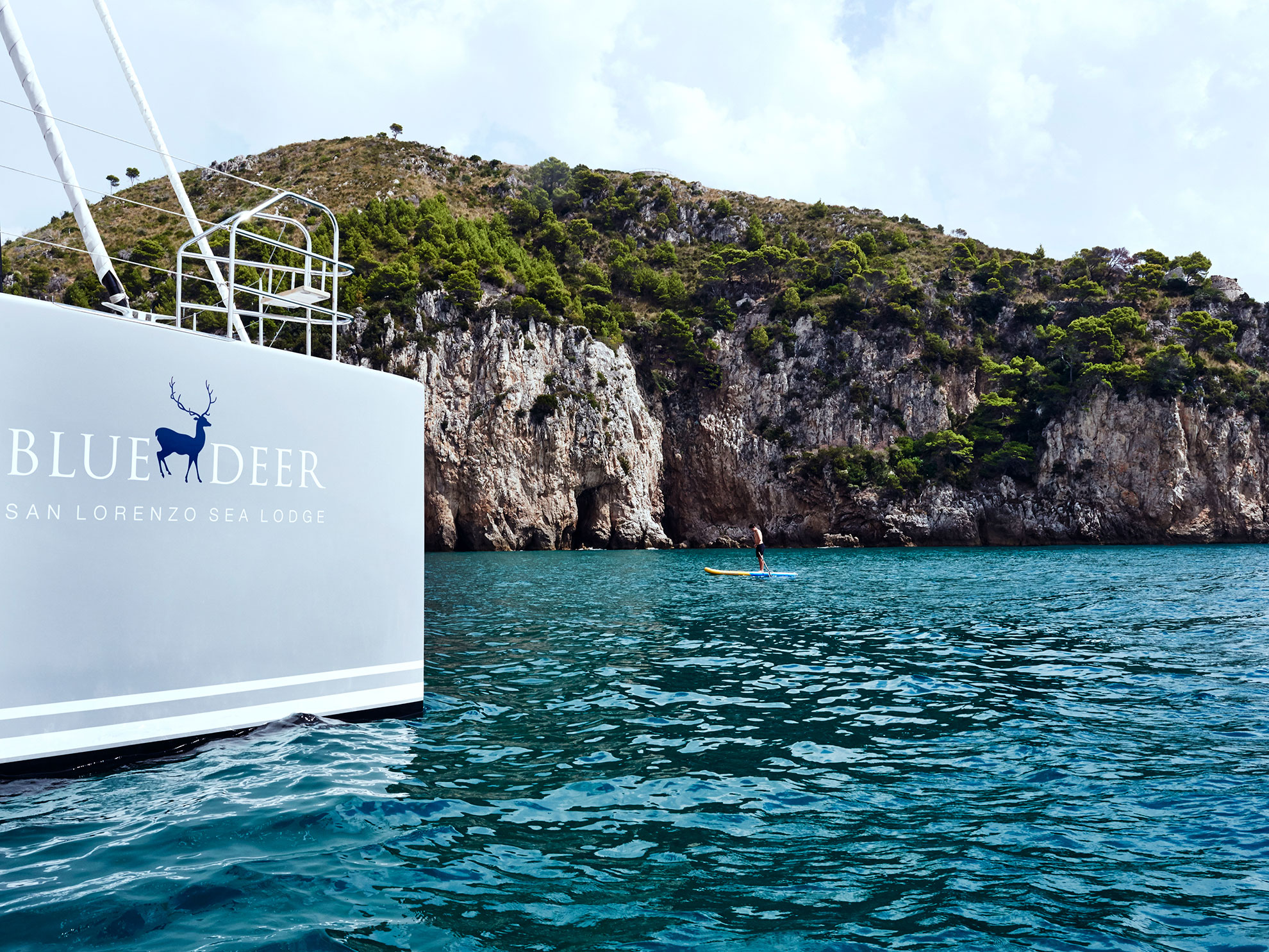 Catamaran Blue Deer