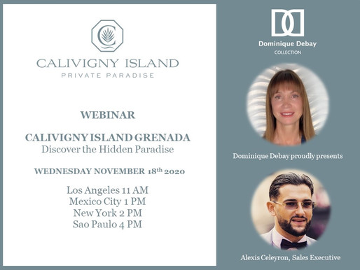 Calivigny Island and Sol y Luna Webinars