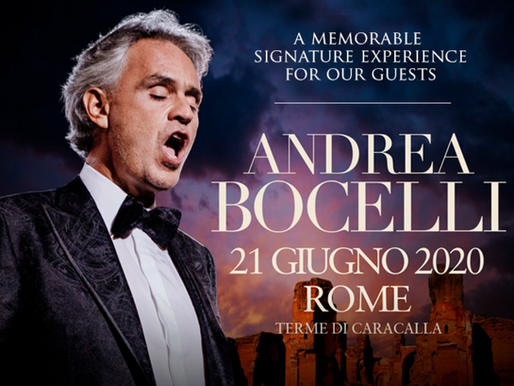 Special offer from San Lorenzo's Holy Deer and Andrea Bocelli