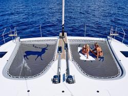 Catamaran Blue Deer