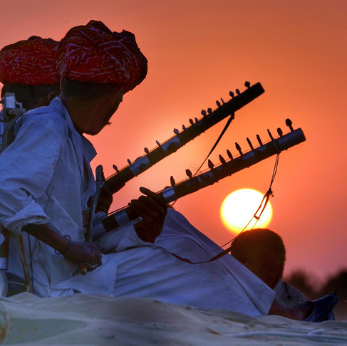 Musical journey through the desert - Equinox Travel India